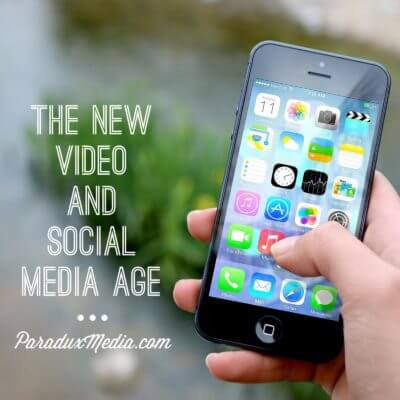 The New Video And Social Media Age