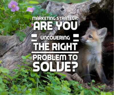 Marketing Strategy: Are You Uncovering the Right Problem to Solve?