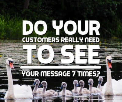 Do your customers really need to see your message seven times
